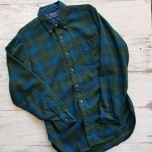 Vintage Pendleton 100% Virgin Wool Woolen Mills M
